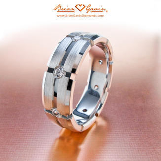 Mens Diamond Wedding Rings 1