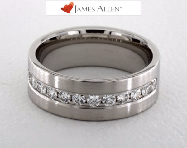 Mens Diamond Wedding Rings 2