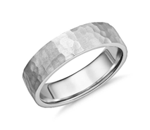 Wedding Band Surface Textures and Widths 3
