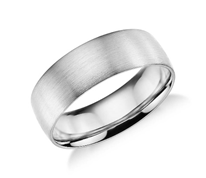 Wedding Band Surface Textures and Widths 4