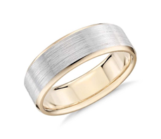 Wedding Band Surface Textures and Widths 5