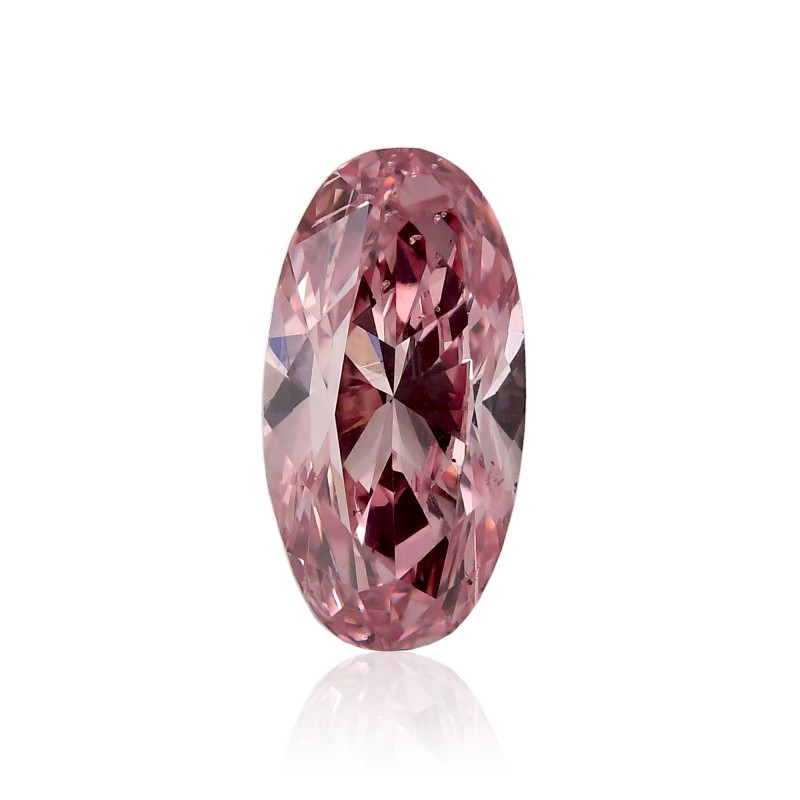 0.56 carat, Fancy Intense Pink Diamond