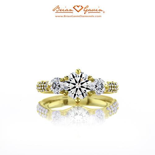 Brian Gavin Aphrodite Engagement ring