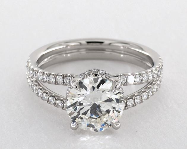 James Allen Double Split Band Engagement Ring