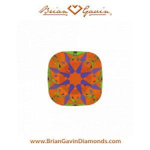 2.2ct Ideal Cut Cushion Diamond