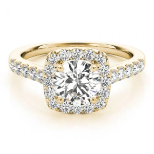 10k Lab Grown Diamond Engagement Rings 4