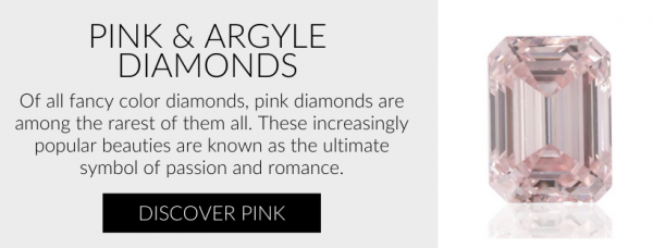 Natural Pink and Red Colored Diamonds